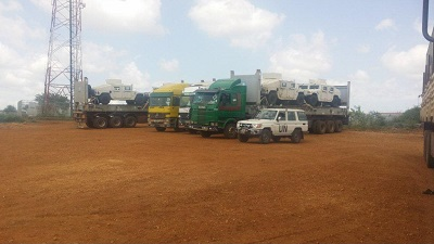 Project cargo from Kenya to South Sudan by Darka Group - Africa